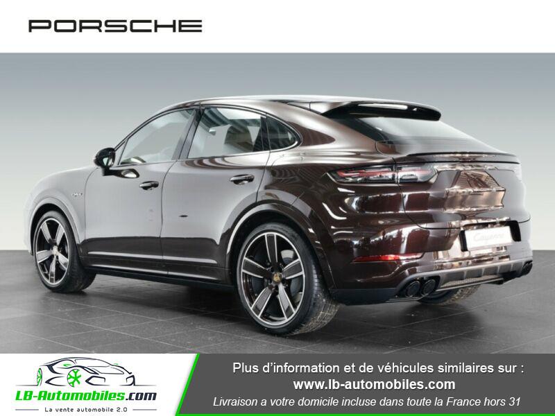 Porsche Cayenne 3.0 V6 462 ch Tiptronic BVA / E-Hybrid Marron occasion à Beaupuy - photo n°3