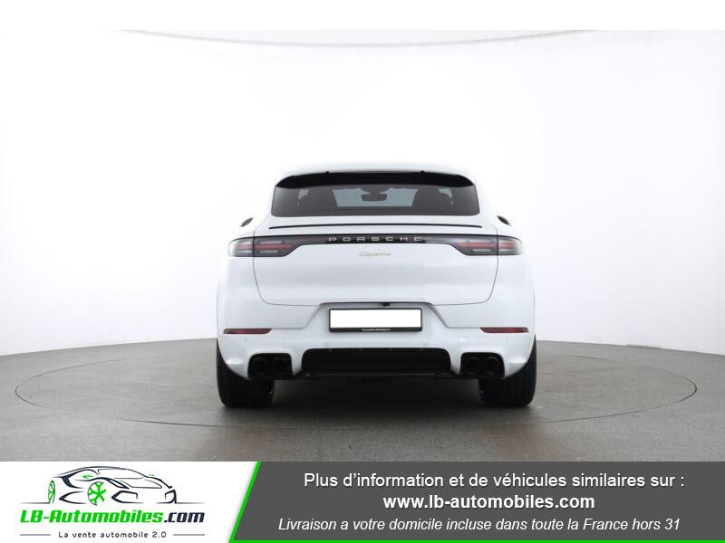 Porsche Cayenne 3.0 V6 462 ch Tiptronic BVA / E-Hybrid Blanc occasion à Beaupuy - photo n°6