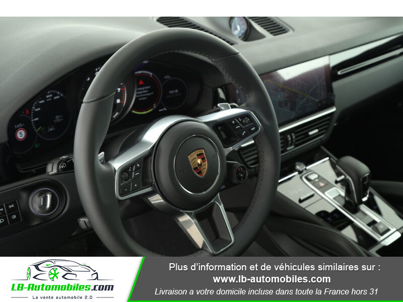 Porsche Cayenne 3.0 V6 462 ch Tiptronic BVA / E-Hybrid Blanc occasion à Beaupuy - photo n°14