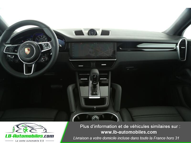 Porsche Cayenne 3.0 V6 462 ch Tiptronic BVA / E-Hybrid Blanc occasion à Beaupuy - photo n°2