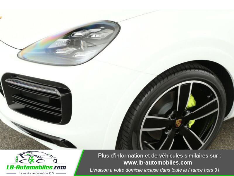 Porsche Cayenne 3.0 V6 462 ch Tiptronic BVA / E-Hybrid Blanc occasion à Beaupuy - photo n°5