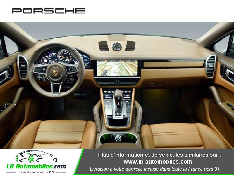 Porsche Cayenne 3.0 V6 462 ch Tiptronic BVA / E-Hybrid Marron occasion à Beaupuy - photo n°2