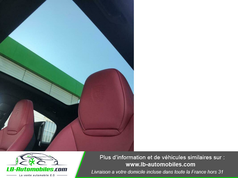Porsche Cayenne 3.0 V6 462 ch Tiptronic BVA / E-Hybrid Noir occasion à Beaupuy - photo n°4