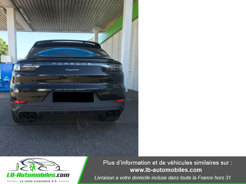 Porsche Cayenne 3.0 V6 462 ch Tiptronic BVA / E-Hybrid Noir occasion à Beaupuy - photo n°3