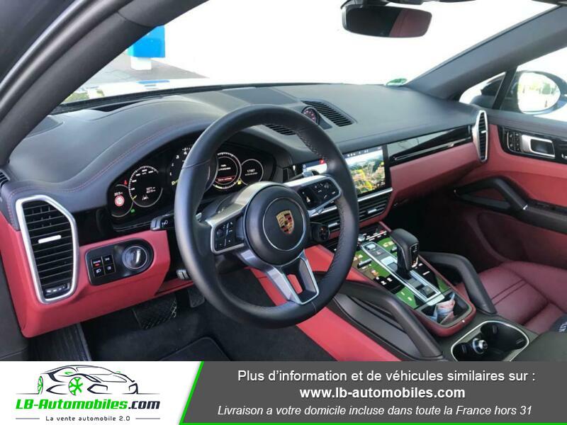 Porsche Cayenne 3.0 V6 462 ch Tiptronic BVA / E-Hybrid Noir occasion à Beaupuy - photo n°2