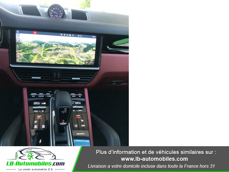 Porsche Cayenne 3.0 V6 462 ch Tiptronic BVA / E-Hybrid Noir occasion à Beaupuy - photo n°8