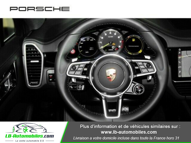 Porsche Cayenne 3.0 V6 462 ch Tiptronic BVA / E-Hybrid Gris occasion à Beaupuy - photo n°5