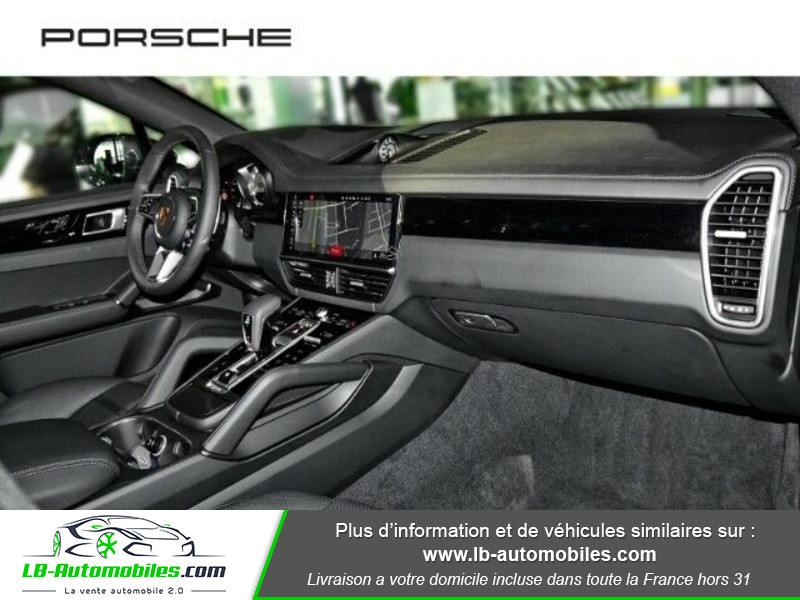 Porsche Cayenne 3.0 V6 462 ch Tiptronic BVA / E-Hybrid Gris occasion à Beaupuy - photo n°4
