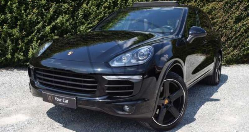 Porsche Cayenne 3.0D Platinum Edition - PANO - 21INCH - CAMERA - BOSE Noir occasion à Itterbeek