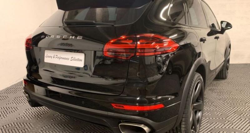 Porsche Cayenne 3.0D V6 262ch 28000km TOIT OUVRANT SIEGES VENTILES Noir occasion à Villeneuve Loubet - photo n°2