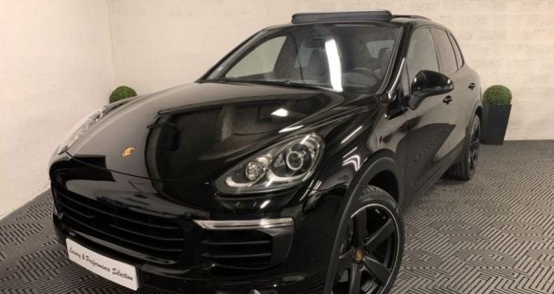 Porsche Cayenne 3.0D V6 262ch 28000km TOIT OUVRANT SIEGES VENTILES Noir occasion à Villeneuve Loubet