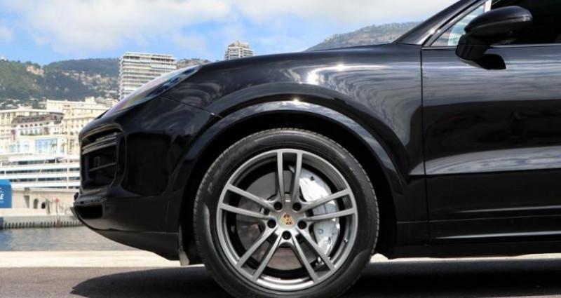 Porsche Cayenne 4.0 550ch Turbo Noir occasion à MONACO - photo n°7