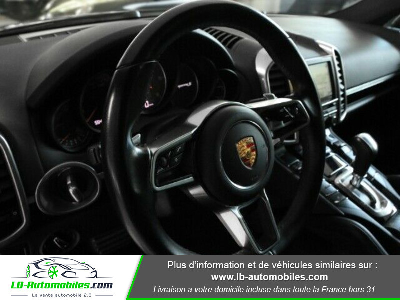 Porsche Cayenne 4.2 V8 S Diesel 385 cv Noir occasion à Beaupuy - photo n°5