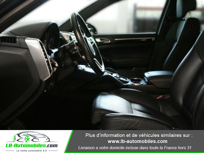 Porsche Cayenne 4.2 V8 S Diesel 385 cv Noir occasion à Beaupuy - photo n°6