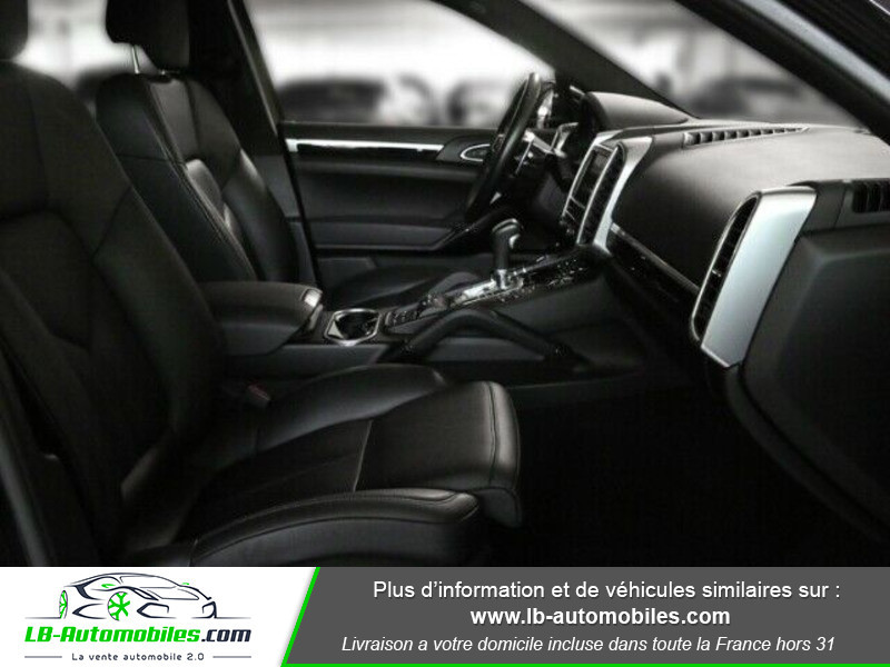 Porsche Cayenne 4.2 V8 S Diesel 385 cv Noir occasion à Beaupuy - photo n°8