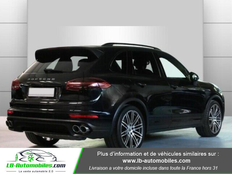 Porsche Cayenne 4.2 V8 S Diesel 385 cv Noir occasion à Beaupuy - photo n°3