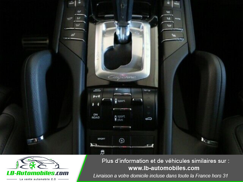 Porsche Cayenne 4.2 V8 S Diesel 385 cv Noir occasion à Beaupuy - photo n°16