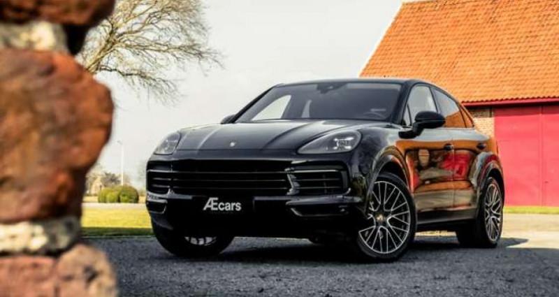 Porsche Cayenne Coupé 3.0 T - 1 OWNER - FULL - BELGIAN Noir occasion à IZEGEM