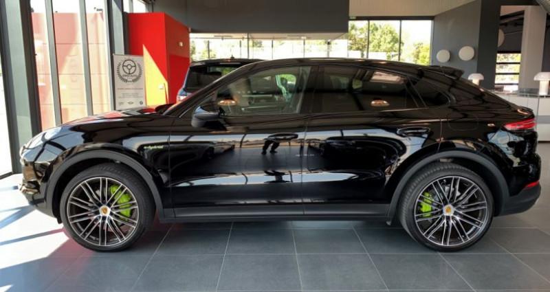Porsche Cayenne COUPE E-Hybrid 462ch Tiptronic 8 Noir occasion à LE SOLER - photo n°2
