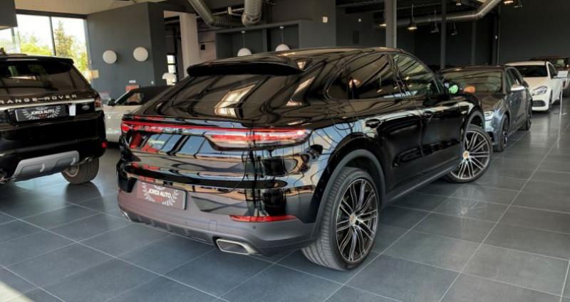 Porsche Cayenne COUPE E-Hybrid 462ch Tiptronic 8 Noir occasion à LE SOLER - photo n°3