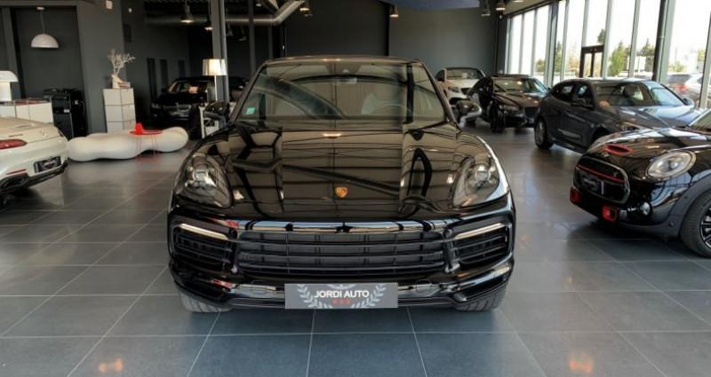 Porsche Cayenne COUPE E-Hybrid 462ch Tiptronic 8 Noir occasion à LE SOLER - photo n°4
