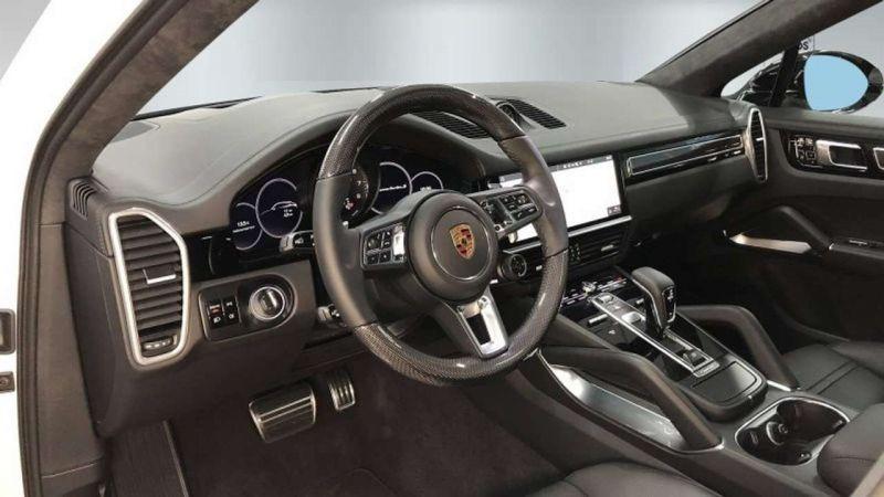 Porsche Cayenne E-Hybrid Coupé Turbo S Blanc occasion à BEAUPUY - photo n°5