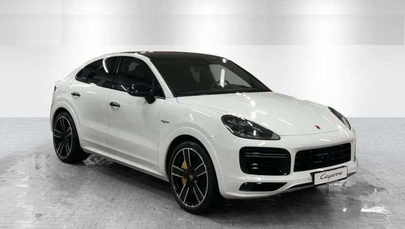 Porsche Cayenne E-Hybrid Coupé Turbo S Blanc occasion à BEAUPUY