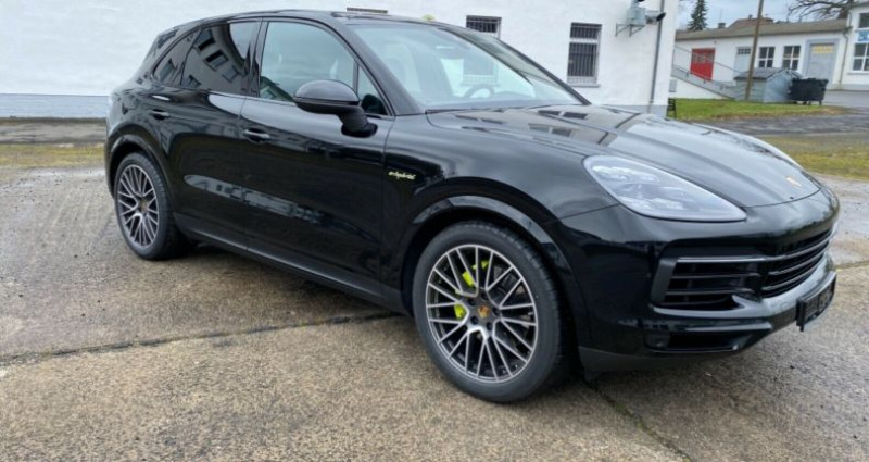 Porsche Cayenne E-Hybrid Noir occasion à Boulogne-Billancourt - photo n°2