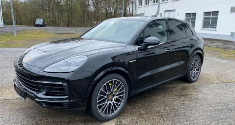 Porsche Cayenne E-Hybrid Noir occasion à Boulogne-Billancourt