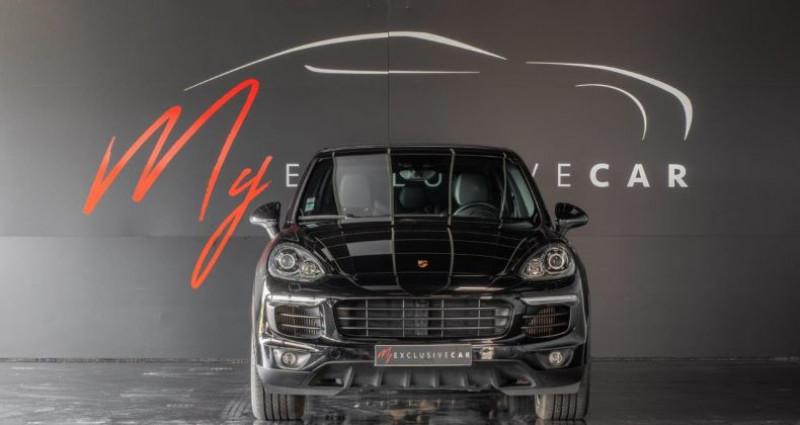 Porsche Cayenne II (2) 3.0 TD 262 ch PLATINUM EDITION TIPTRONIC Première Mai Noir occasion à LISSIEU - photo n°2