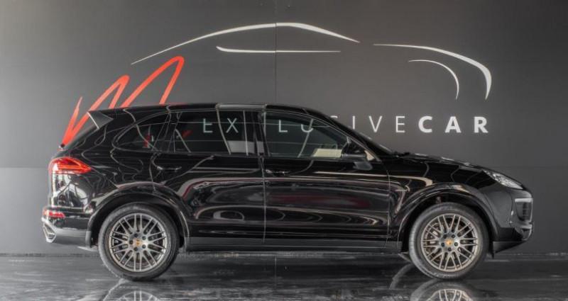 Porsche Cayenne II (2) 3.0 TD 262 ch PLATINUM EDITION TIPTRONIC Première Mai Noir occasion à LISSIEU - photo n°3