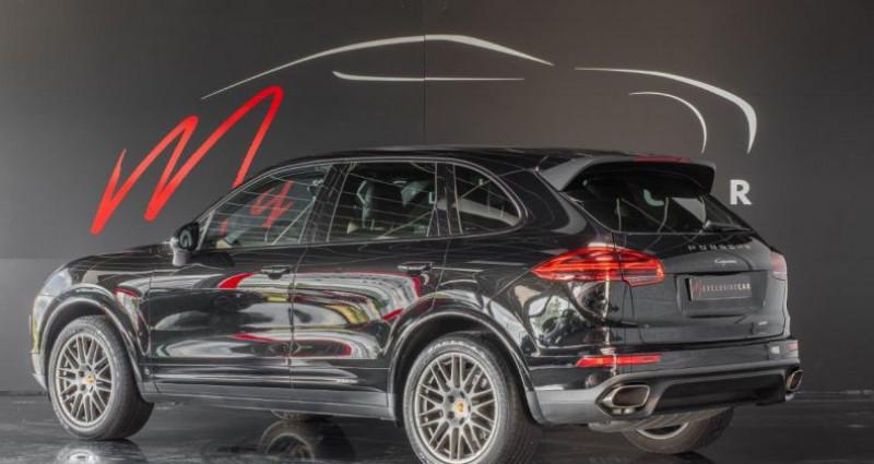 Porsche Cayenne II (2) 3.0 TD 262 ch PLATINUM EDITION TIPTRONIC Première Mai Noir occasion à LISSIEU - photo n°5