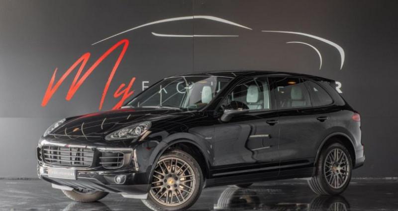 Porsche Cayenne II (2) 3.0 TD 262 ch PLATINUM EDITION TIPTRONIC Première Mai Noir occasion à LISSIEU