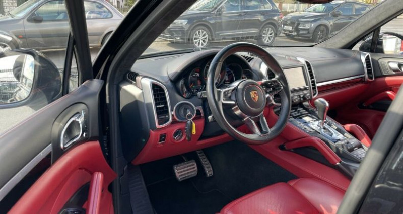 Porsche Cayenne II (958) 3.6 440ch GTS Noir occasion à Boulogne-Billancourt - photo n°6