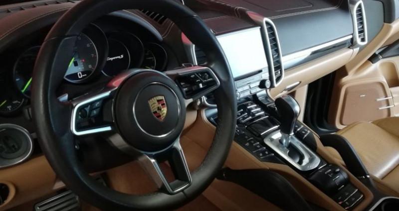 Porsche Cayenne Platinium Edition Noir occasion à SAINT ANDRE DE CORCY - photo n°5