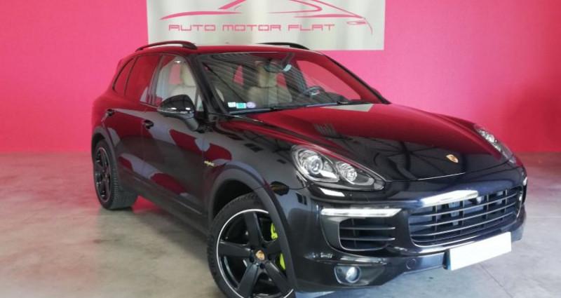 Porsche Cayenne Platinium Edition Noir occasion à SAINT ANDRE DE CORCY - photo n°3