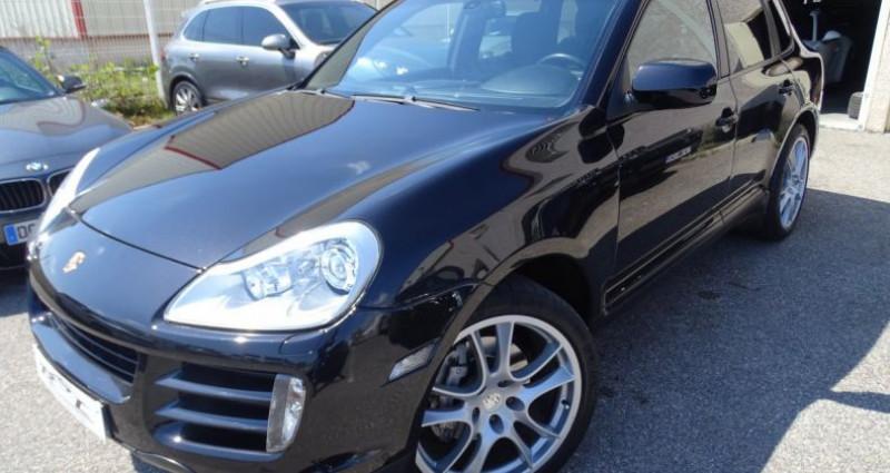 Porsche Cayenne S 4.8L V8 385Ps Tipt/PASM TOE panor PCM JTES 21  BIXENON  PD Noir occasion à CHASSIEU - photo n°2