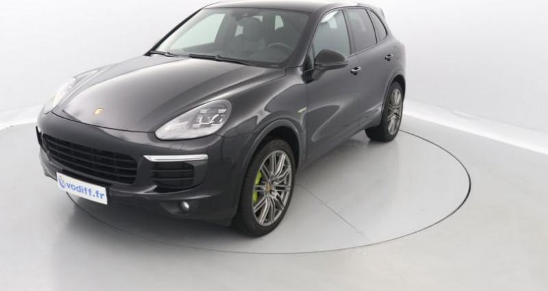 Porsche Cayenne S E-HYBRID 333 CV PLATINIUM EDITION TIPTRONIC S 1ère Main Noir occasion à Entzheim
