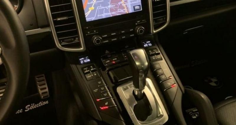 Porsche Cayenne SE S E-HYBRIDE 3,0 V6 416ch PLATINUM NBES OPTIONS Noir occasion à Villeneuve Loubet - photo n°7