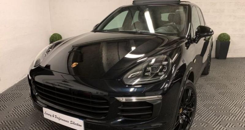 Porsche Cayenne SE S E-HYBRIDE 3,0 V6 416ch PLATINUM NBES OPTIONS Noir occasion à Villeneuve Loubet