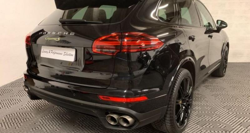 Porsche Cayenne SE S E-HYBRIDE 3,0 V6 416ch PLATINUM NBES OPTIONS Noir occasion à Villeneuve Loubet - photo n°3