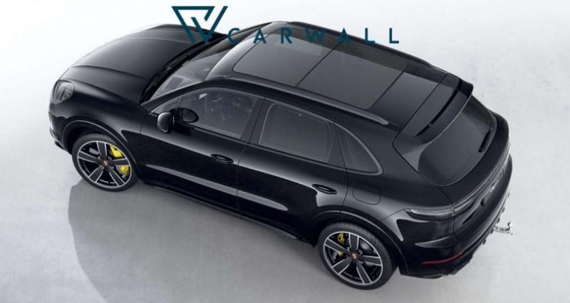 Porsche Cayenne Turbo S E-Hybrid Noir occasion à Levallois Perret - photo n°4