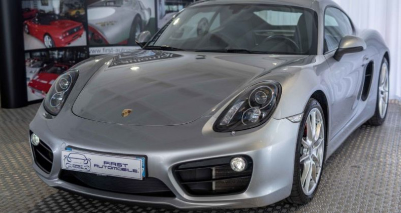 Porsche Cayman (981) 3.4 325CH S PDK Gris occasion à VENDENHEIM
