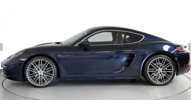 Porsche Cayman 2.0 300CH PDK EURO6D-T Bleu occasion à Villenave-d'Ornon