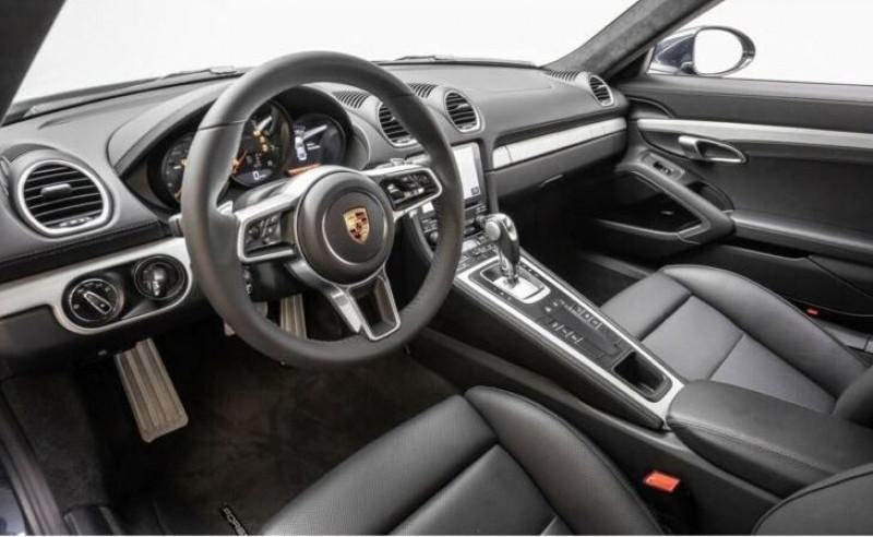 Porsche Cayman 2.0 300CH PDK EURO6D-T Bleu occasion à Villenave-d'Ornon - photo n°4