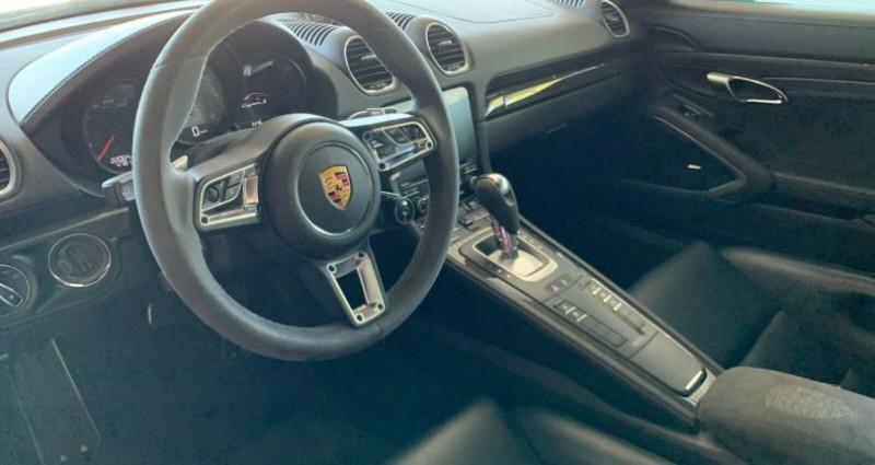 Porsche Cayman 2.5 350ch S PDK Bleu occasion à Boulogne-Billancourt - photo n°7