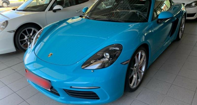 Porsche Cayman 2.5 350ch S PDK Bleu occasion à Boulogne-Billancourt