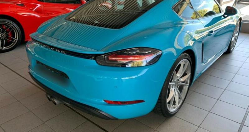 Porsche Cayman 2.5 350ch S PDK Bleu occasion à Boulogne-Billancourt - photo n°3