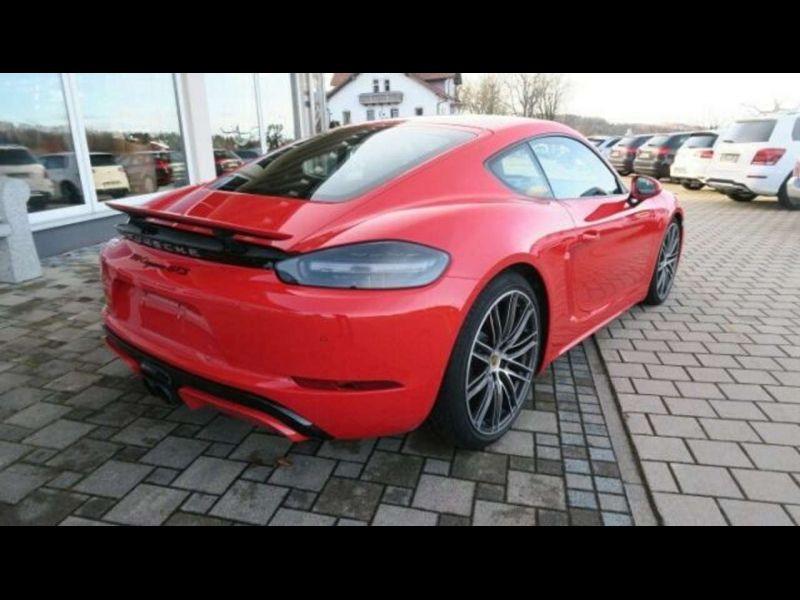 Porsche Cayman 2.5 GTS PDK Rouge occasion à BEAUPUY - photo n°3