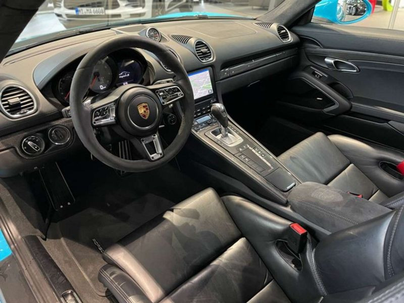 Porsche Cayman 2.5 S PDK Bleu occasion à BEAUPUY - photo n°2